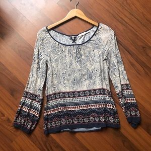 Cute patterned blouse